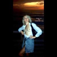 Sheila at Sunset