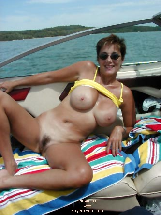 Pic #7 - Marcia's Boat Ride