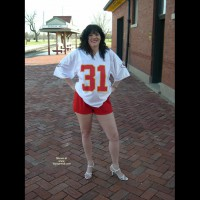 Kc Chiefs Fan Showing Off