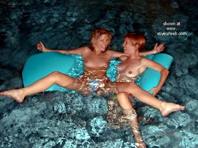 Pic #1 - Lora      & Phoebe Get Wet