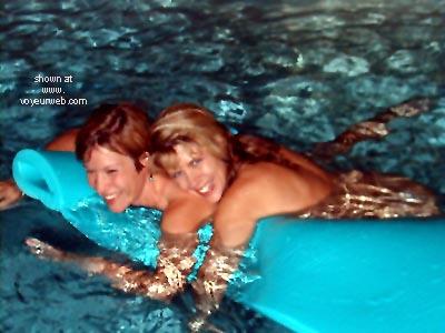 Pic #3 - Lora      & Phoebe Get Wet