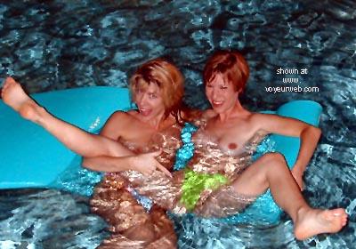 Pic #4 - Lora      & Phoebe Get Wet