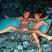 Lora      & Phoebe Get Wet