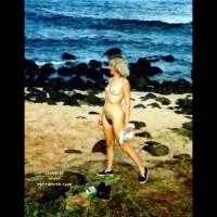 Sheila at the Beach'99