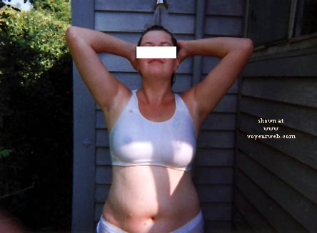 Pic #3 - Lizbell & The Outdoor Shower