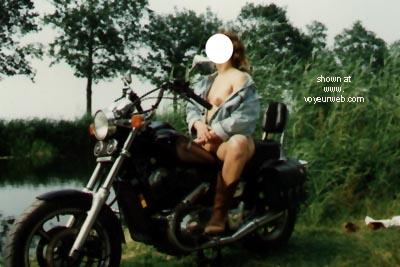 Pic #2 - Biker Babe