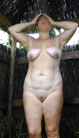 Pic #4 - Wife On Naturist Beach