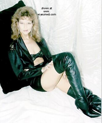 Pic #3 - Yellow Rose In Black Leather