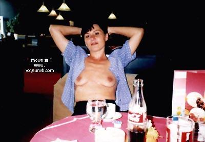 Pic #1 - Vicki In The Cafe
