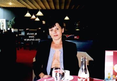Pic #3 - Vicki In The Cafe