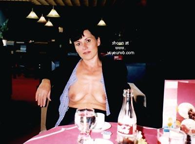 Pic #4 - Vicki In The Cafe