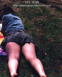Pic #1 - She never wears Panties