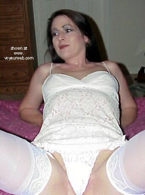 Pic #7 - Green Eyes White Stockings And Lace