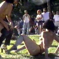 Nude In Park