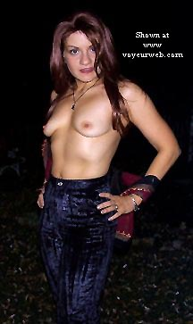 Pic #2 - AlexMarie on Halloween - Part 1