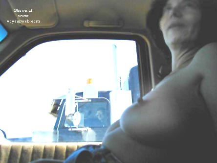 Pic #4 - Kate Flashing Truckers
