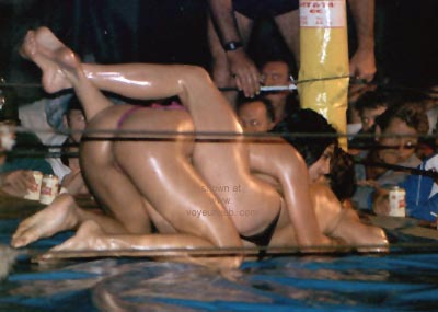 Pic #1 - Oil Wrestling