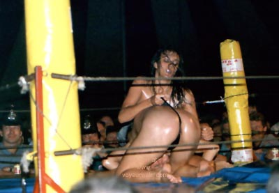 Pic #3 - Oil Wrestling