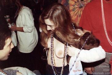 Pic #2 - Wife at Mardi