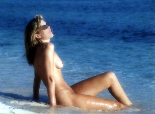 Pic #4 - Sondra at the Beach