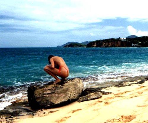 Pic #10 - Sondra at the Beach