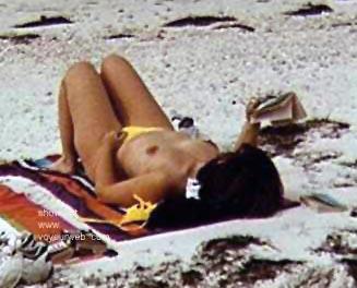 Pic #2 - Liz      at the Beach