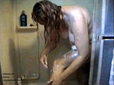 Pic #2 - Under Shower Behind Glass