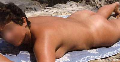 Pic #3 - Wife      Sunning