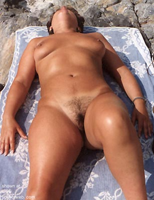 Pic #5 - Wife      Sunning