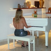 Angel Plays The Piano...