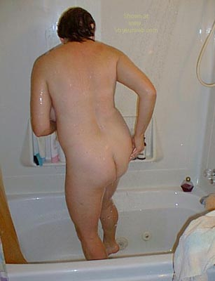 Pic #3 - Deb      in the Shower