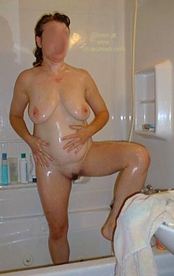 Pic #7 - Deb      in the Shower