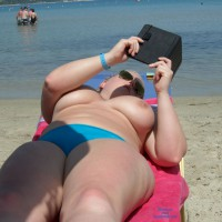 Beach Voyeur: Blonde On The Beach