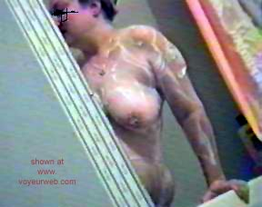 Pic #4 - My      Wife in the Shower