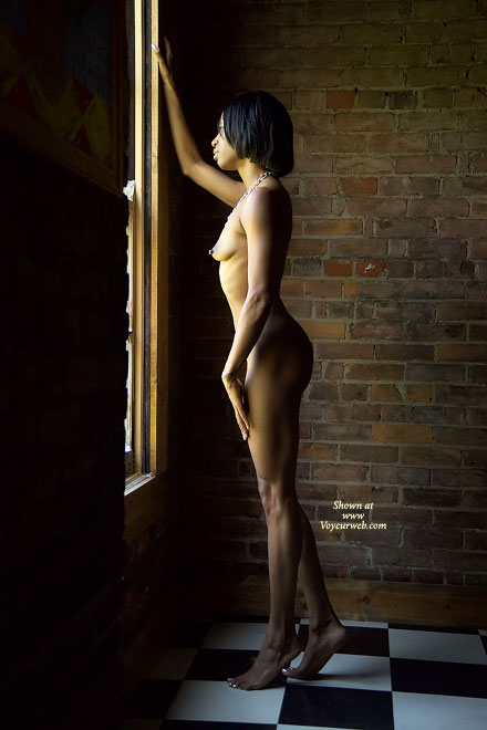 Pic #1 - Nude African American - Artistic Nude, Nude Amateur , Nude African American, Artistic Lighting, Nude Looking Out Window, Contrast Nude, Hard Body  Thick Nipples, Sculpted Hard Body