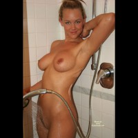 Aj In The Shower
