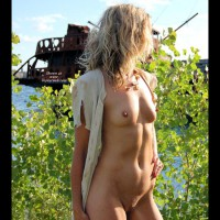 Sinsation - Shipwrecked - Blonde Hair, Full Nude, Perky Nipples, Shirt, Small Tits
