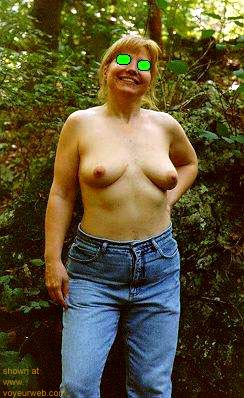 Pic #1 - Naked      in the Woods