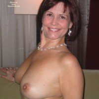 Topless Indoors - Perky Nipples, Topless