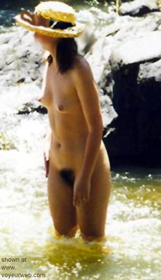 Pic #3 - Hot      Wife at the River