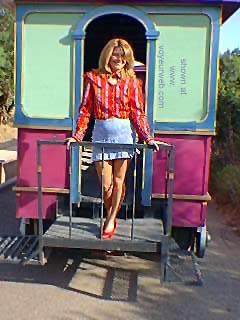Pic #1 - KayDee      and the Trolley 1