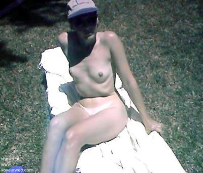 Pic #5 - Sherri      in the BackYard