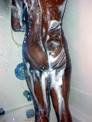 Pic #6 - DeAnn      in the Shower