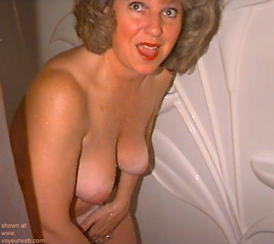 """Pic #1 - """"Joyce      - Surprised and wet."""""""