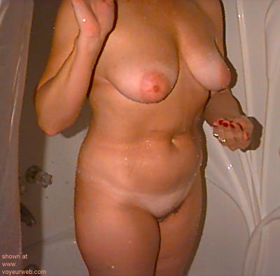 """Pic #2 - """"Joyce      - Surprised and wet."""""""