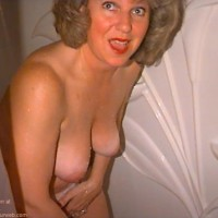 """""""Joyce      - Surprised and wet."""""""