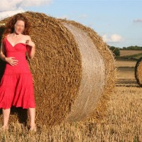Mrs Horny In The Hay