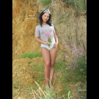 Sweet Fairy Naked Outdoors