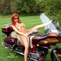 Roxanne On The Bike