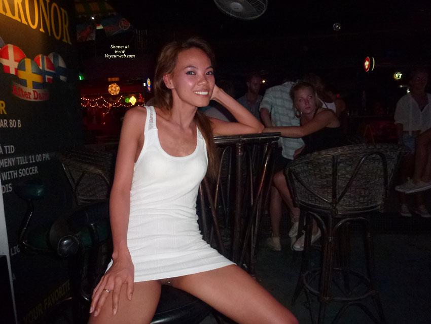 Pic #5 - Pantieless Girl:*PU Upskirts In Samui Bars - Part 3 - Pantieless Girls